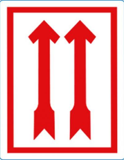 pijlen rood